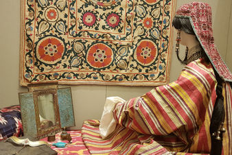 "The exhibition  ""The Earthly Beauty: Image of Woman in Folk Culture"""